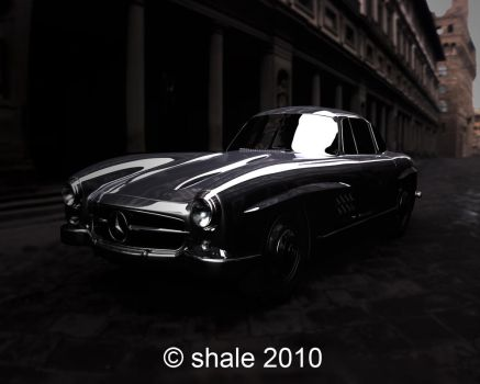 1954 Mercedes 300SL Gullwing 7 by shale1