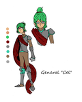 Kingfish Characters: General Cel by Aksika