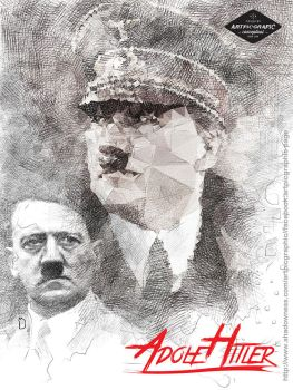 Digisketch-Hitler by cemuihdah