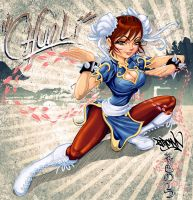 CHUN LI COLORED by BROWN73