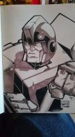 Marker Practice 6: Ironhide by Natephoenix