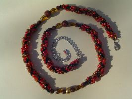 Spiral Necklace- Gift by tyshalae