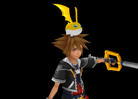 MMD Patamon + DL by Valforwing