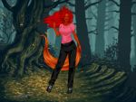Karen morphs Fox (Animorphs) by suburbantimewaster