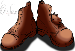 Brown Shoes by 8i-Emmz-i8