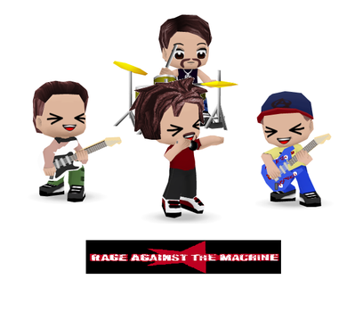 Rage Against the Machine by TennisHero