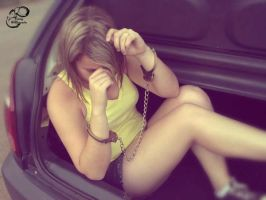 Kidnnaping Monica in a car by fotologalgemadas