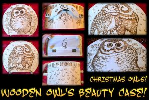 Beauty Case Owl by ChibiPyro