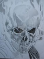 Ghost Rider WIP I by corysmithart