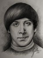 Simon Helberg by JuliaFox90
