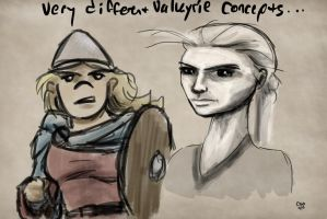 Sketch: Valkyrie Concepts by Callego