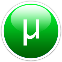 uTorrent glass dock icon ver.2 by Superxero0