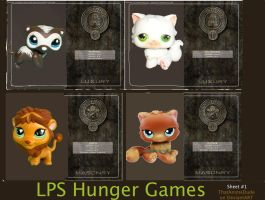lps hunger games (district 1 and 2) by ThatAnimeDude