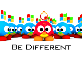 Be different by linksan