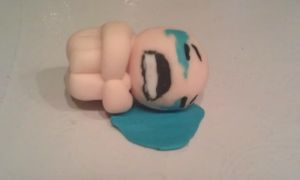 Crying Isaac by Hell-Hunter