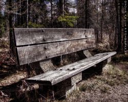 Benched by AgilePhotography