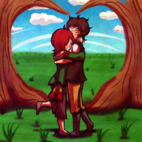Valentine's Day Contest: June and Aiden by Zeepla