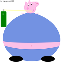 Peppa Pig: George inflated by dev-catscratch