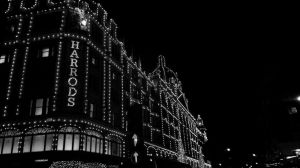 harrods at night by LETSOC