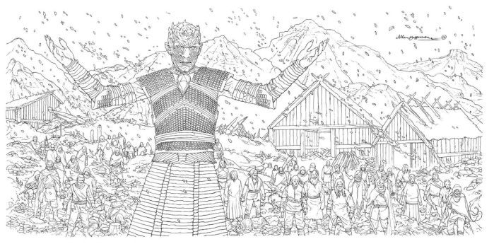 Game Of Thrones_ Coloring Book_ 09 by AllJeff