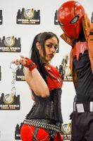 Red hat and friend cosplay - Philly Wizard World by Studio5Graphics