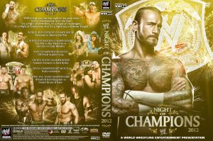 WWE Night of Champions 2012 DVD Cover V4 by Chirantha