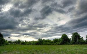 Cloudy field HDR by blinka