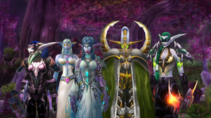 Kaldorei women by featherunner