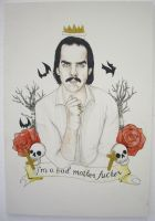 Nick Cave by PsychosisSafari
