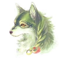 Green Werewolf by Yeale