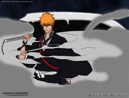 Ichigo - Back In Black by Remmirath90