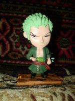Roronoa Zoro (toy) by Hedgehog-Russell
