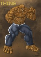 The THING_Colors by Troianocomics