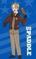 America and his Paddle by Arkham-Insanity