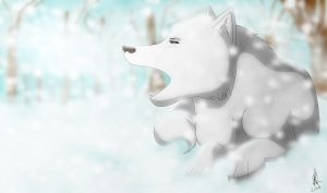 White Snow by DSerpente