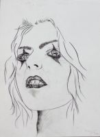 Drawing of a Woman :) by Perspective-on-Art