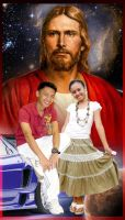 Michael and Rose Anne Together with Jesus by michaeltuan97