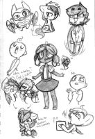 Sketch Dump-R-Us by TheCat-In-TheClouds