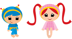 Barefoot Umizoomi by ChameleonCove