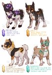 Gemstaffs - adoptable auctions - CLOSED - 1 by Fuki-adopts