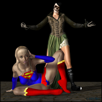 Supergirl Outmatched by LordSnot