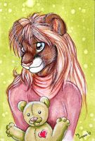 ACEO with Astra by Suane
