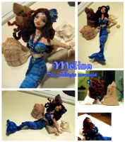 Melina - The midnight mermaid by JadeDragonne