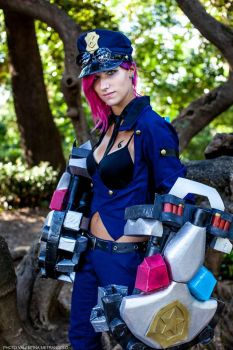Vi_The officer by FairyScarlet