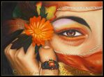 Persephone in Oil by Lilyas