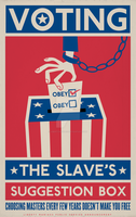 Voting: The Slave's Suggestion by Libertymaniacs