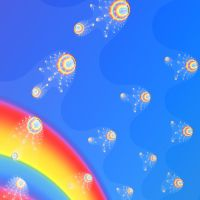 Rainbow Jellyfish by seven-s