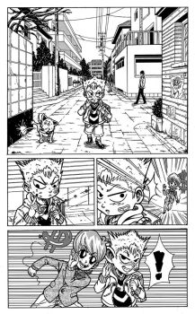 Little Kotaretto - Sample Page 1 by Dice-san91