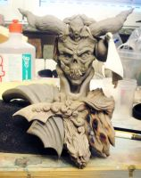 old sculpure - vampire lord PP by OniBaka