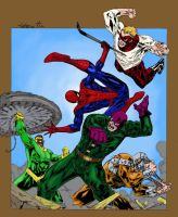 SpideyThurs 21 - Captblitzdawg by SpiderGuile